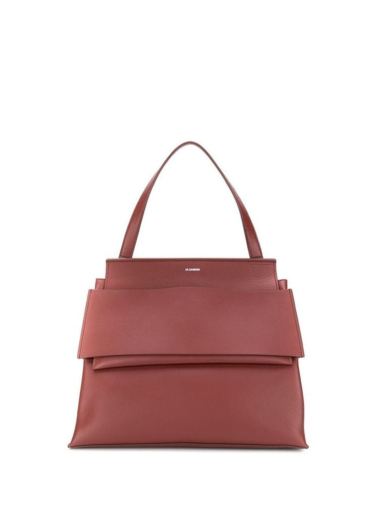 Jil Sander medium Bridge tote - Brown