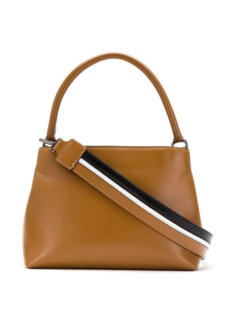 Mara Mac leather shoulder bag - Brown
