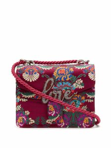 Isla Love embroidered shoulder bag