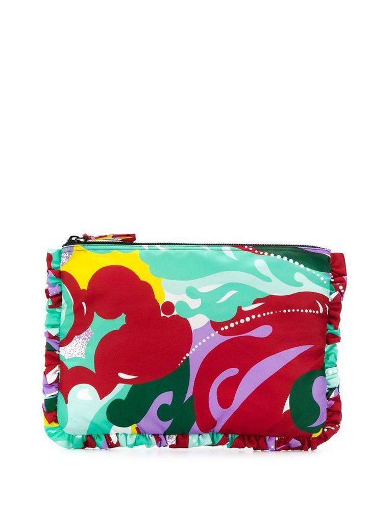 La Doublej oversized zip pouch - Green