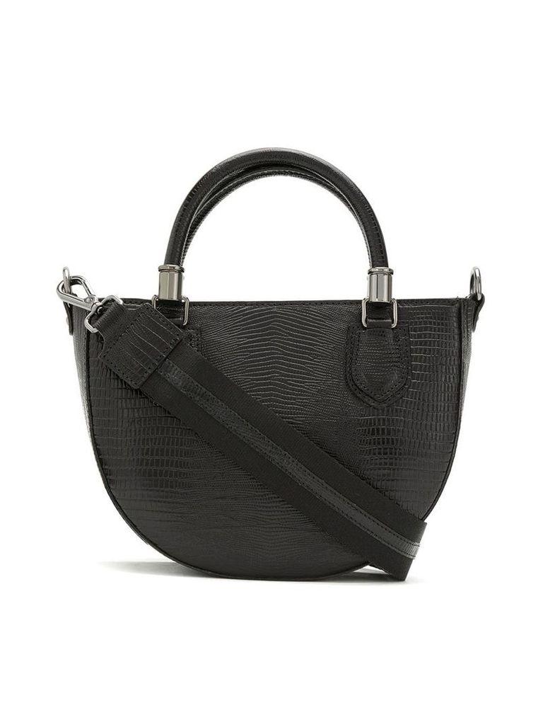 Mara Mac leather shoulder bag - Black
