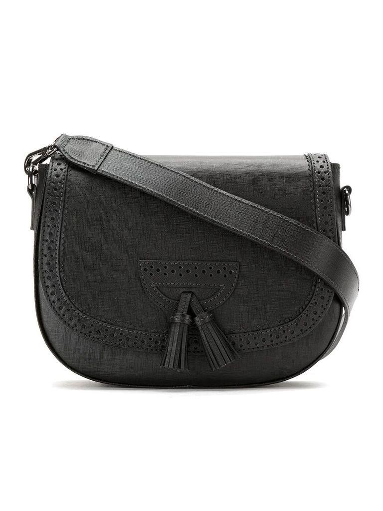 Sarah Chofakian Kitx leather shoulder bag - Black