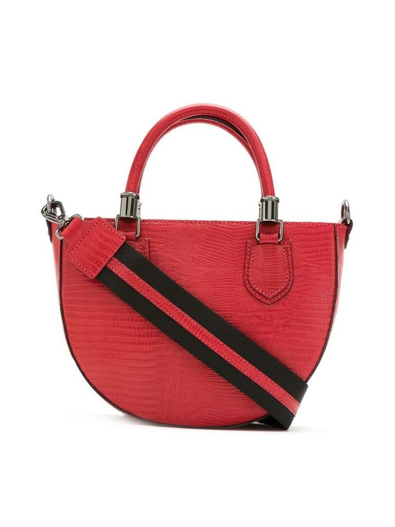 Mara Mac leather shoulder bag - Red