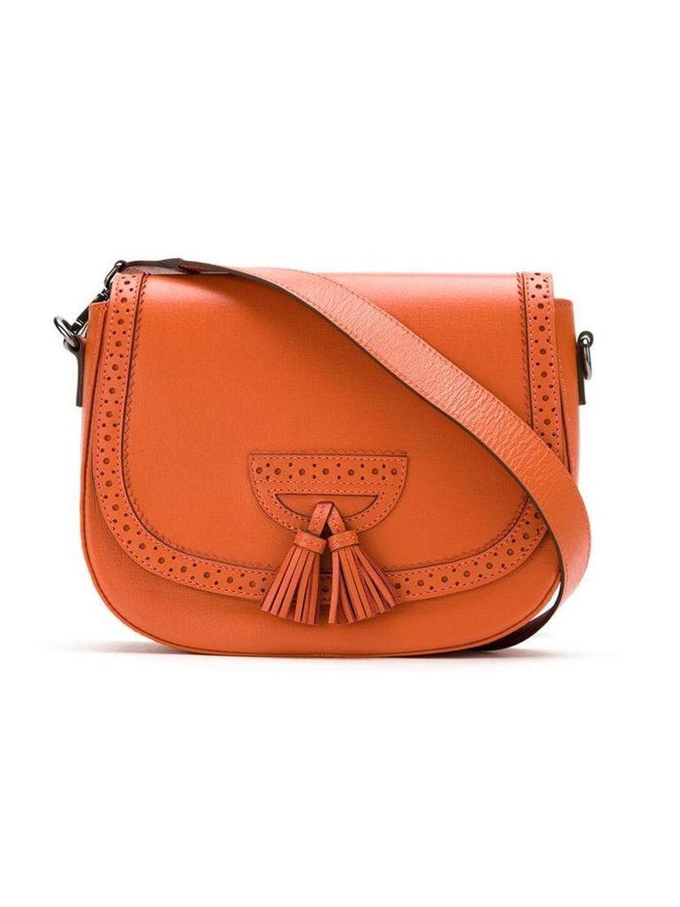 Sarah Chofakian leather crossbody bag - Orange