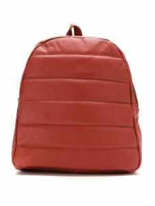 Mara Mac leather backpack - Red