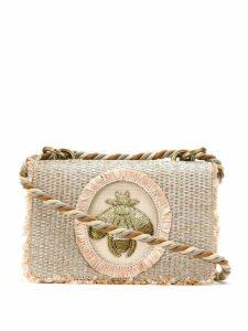 Isla mini Bee shoulder bag - Neutrals