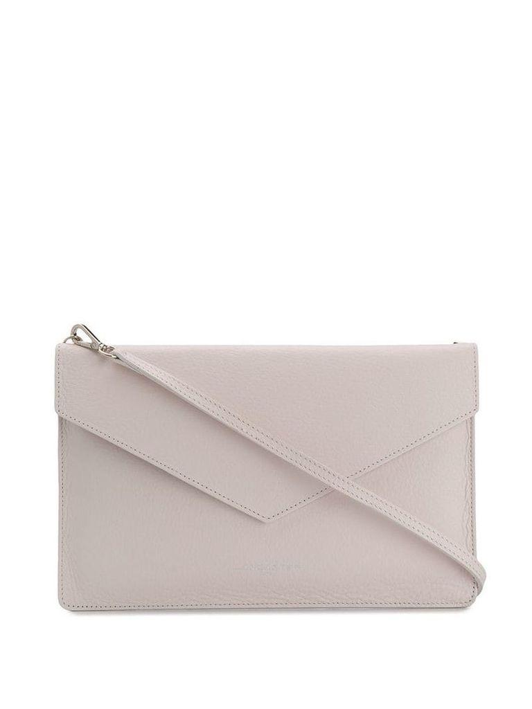 Lancaster envelope shaped bag - Neutrals