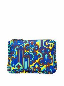 La Doublej oversized zip pouch - Blue