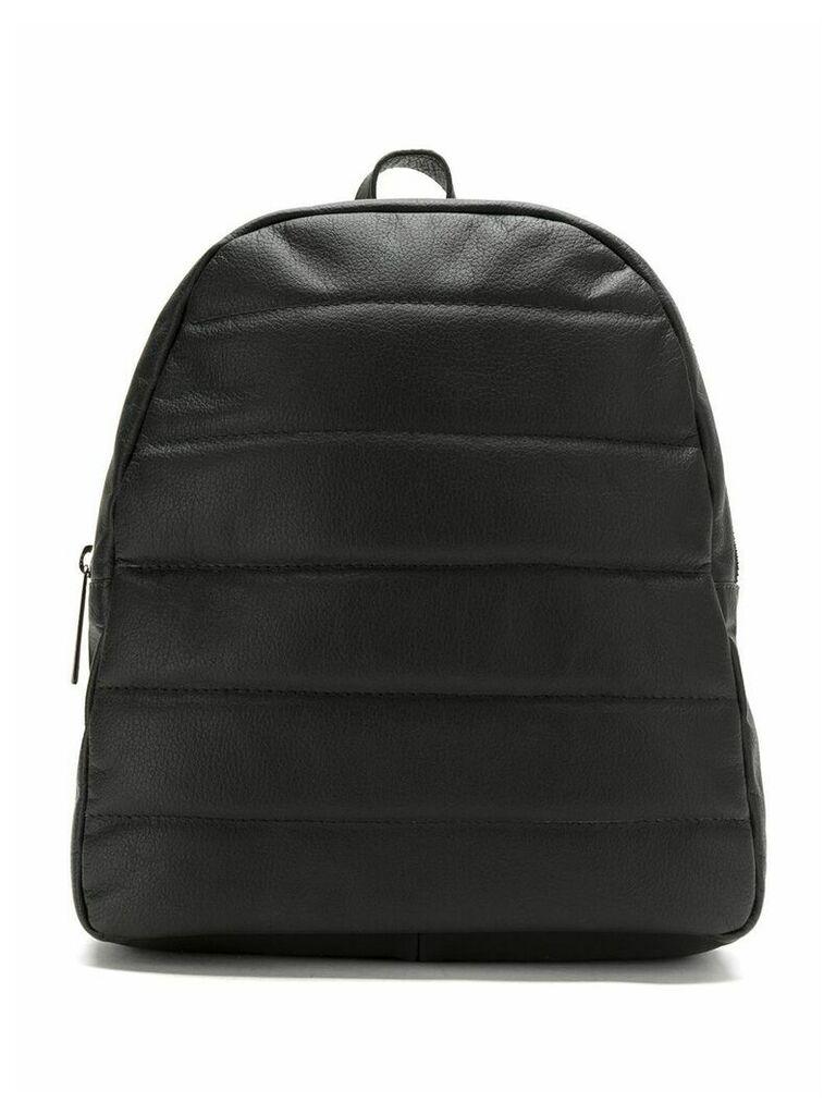 Mara Mac leather backpack - Black
