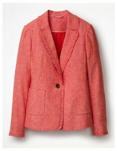 Mina Blazer Red Women Boden, Pink