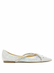 Undercover - David Bowie Print Loop Back Cotton Sweatshirt - Womens - Blue