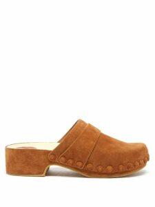 Biyan - Suji Floral Print Silk Blouse - Womens - Navy Multi