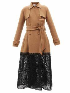 Etro - Somerset Patchwork Silk Maxi Dress - Womens - Orange Multi