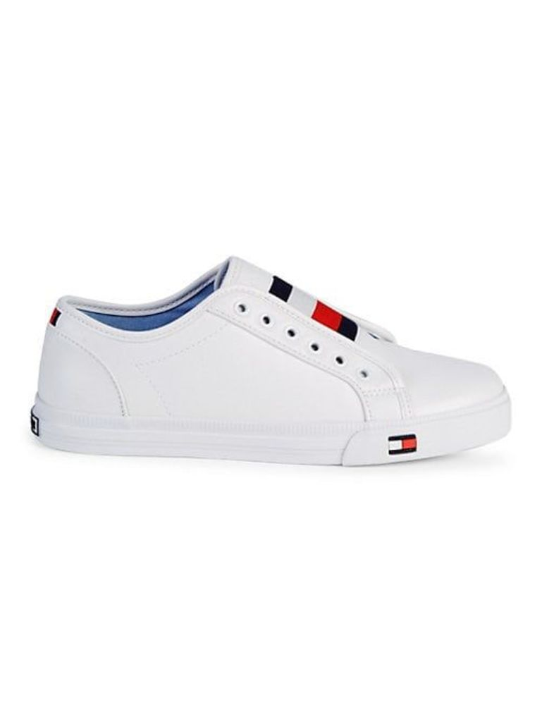 Logo Patch Slip-On Sneakers