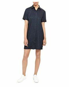 Theory Mini Shirt Dress