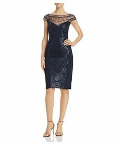 Tadashi Shoji Petites Sequined Cocktail Dress