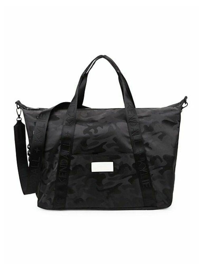 Camouflage Weekender Bag