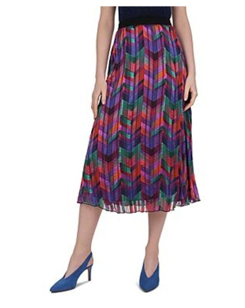 Ba & sh Paolo Pleated Skirt