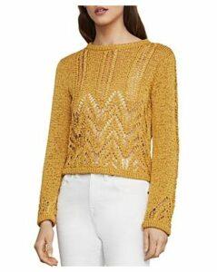 Bcbgmaxazria Mixed-Stitch Sweater