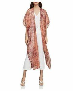 Bcbgmaxazria Tile Print Kimono