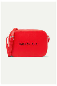 Balenciaga - Everyday Xs Aj Printed Textured-leather Camera Bag - one size
