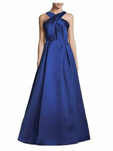 Cross Front Ball Gown
