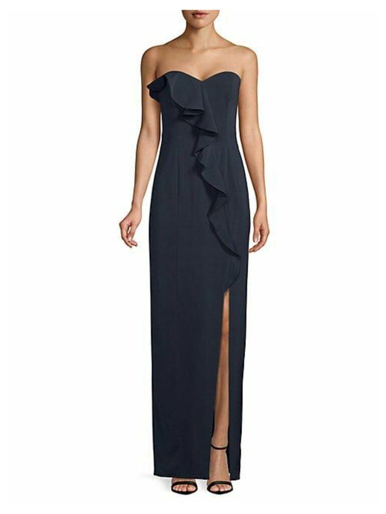 Varys Strapless Column Gown