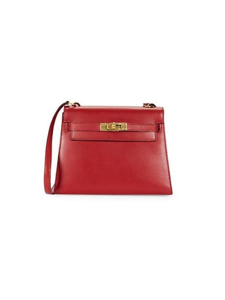 Vintage Kelly Leather Shoulder Bag