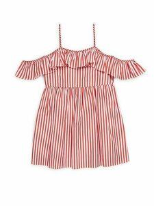 Girl's Striped Cotton Bella Dress