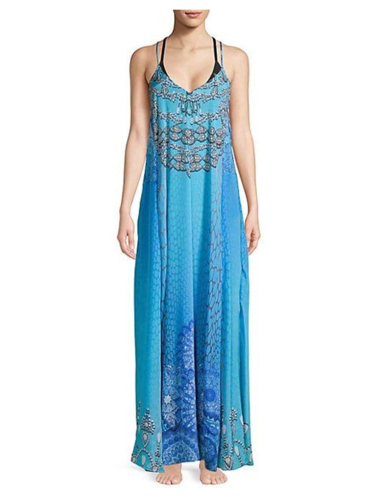 True Colors T-Back Cover-Up Dress