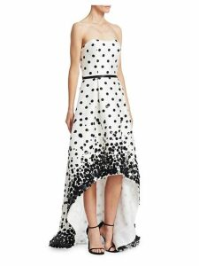 Sequin Polka Dot Gown