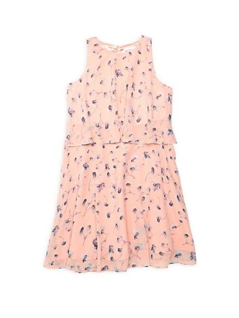 Girl's Poppy Printed Dress