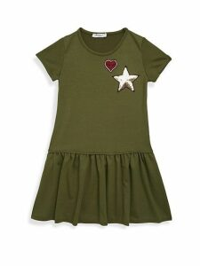 Girl's Short-Sleeve T-Shirt Dress