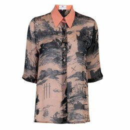 Klements - Mildred Shirt In Doomed Voyage Print
