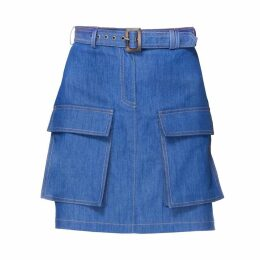 DIANA ARNO - Kirsten Denim Skirt With Pockets