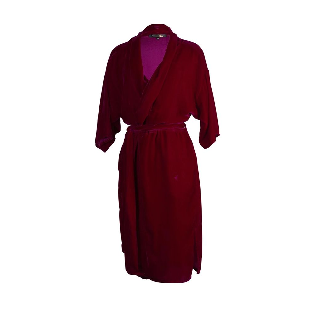 DIANA ARNO - Aria Trench Coat In Blue Denim