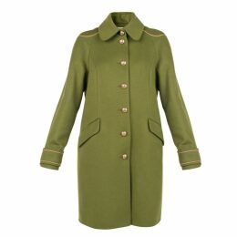 MUZA - Embellished Military Style Coat