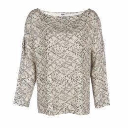 Lobo Mau - Brushstrokes Tshirt Pocket Dress