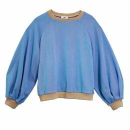 Lobo Mau - Puff Sleeve Raglan Sweatshirt