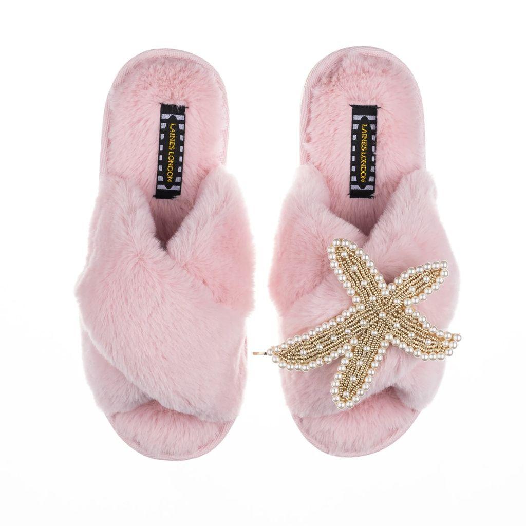 Soi 55 - Lolita Recycled Plastic Beach Bag Neon Pink