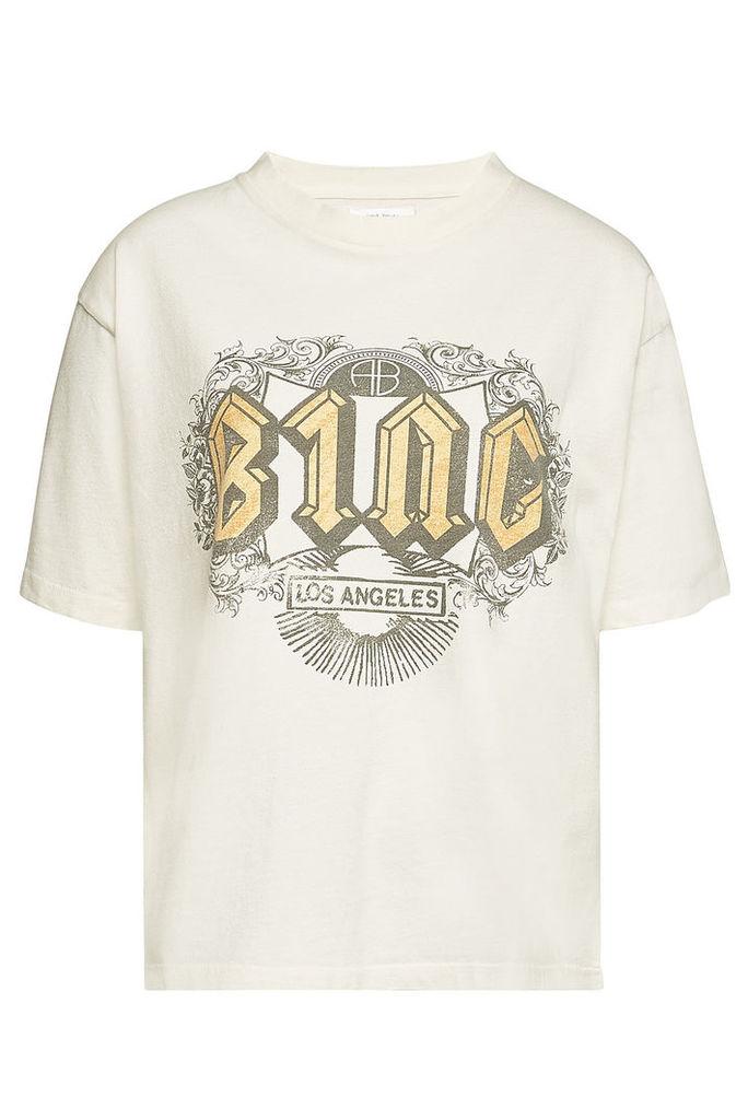Anine Bing Bing Ink Printed T-Shirt