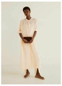 Long cotton blouse