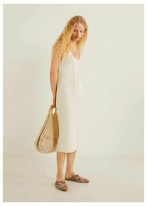 Recycled cotton dress