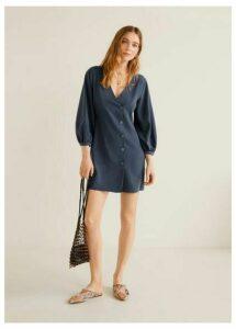 Buttons soft dress