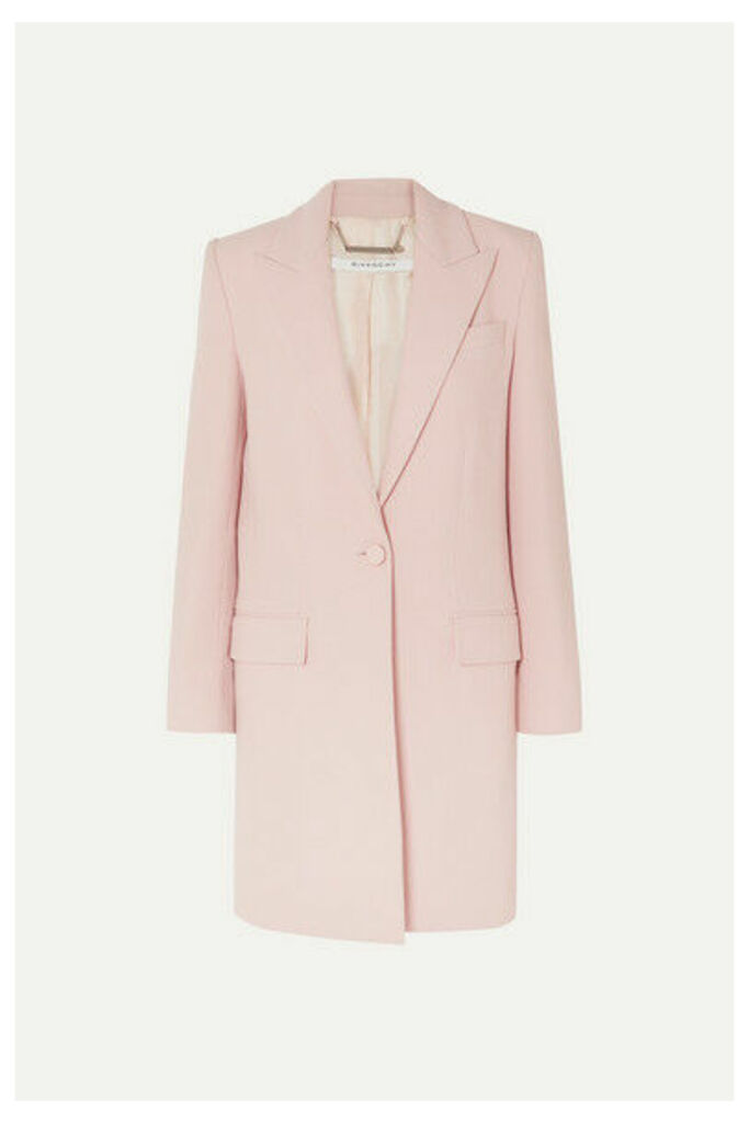 Givenchy - Wool-crepe Coat - Pink