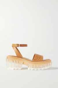 Roksanda - Ruffled Cotton-poplin Top - Pink