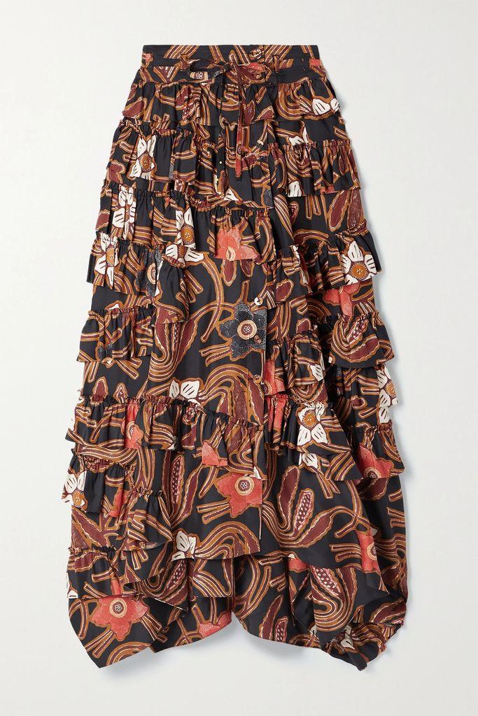 Missoni - Patchwork Crochet-knit Maxi Dress - Off-white