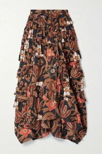 Missoni - Patchwork Crochet-knit Maxi Dress - Off-white