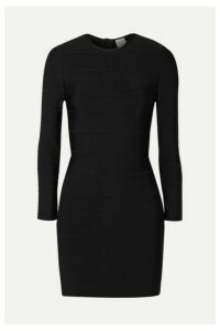 Hervé Léger - Bandage Mini Dress - Black