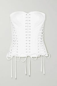 Seren - Olga Floral-print Silk-satin Maxi Dress - Light blue